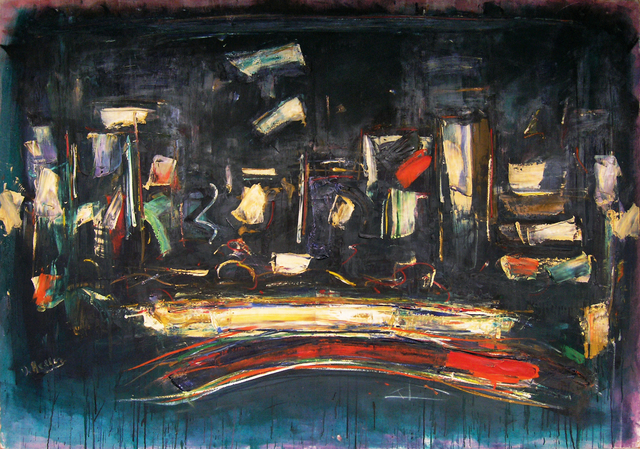 , 'Night City,' 1958, Walter Wickiser Gallery