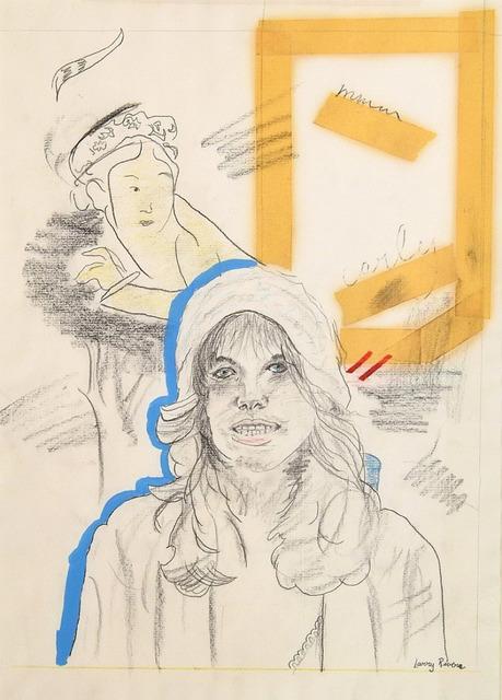 Larry Rivers, 'Portrait of Carly Simon', 1970-1970, Robert Funk Fine Art
