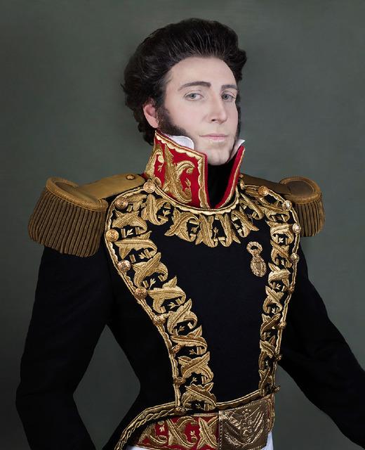 , 'Gran Mariscal Don Juan Bautista Elespuru y Montes de Oca, Self Portrait ,' 2017, Cinnabar