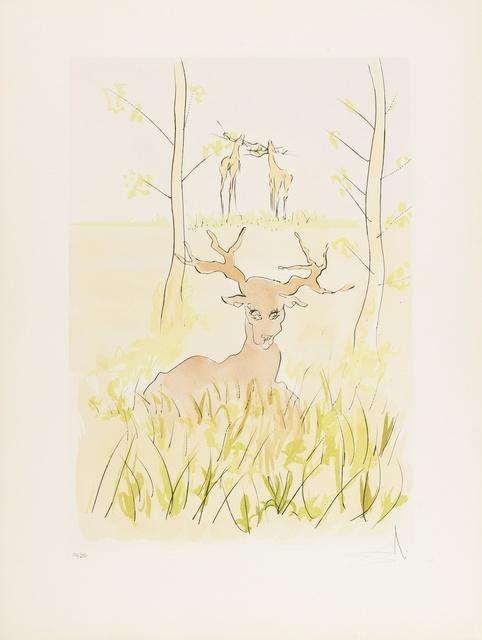 Salvador Dalí, 'Le Cerf Malade (Field 74-1-F; M & L 659)', 1974, Forum Auctions