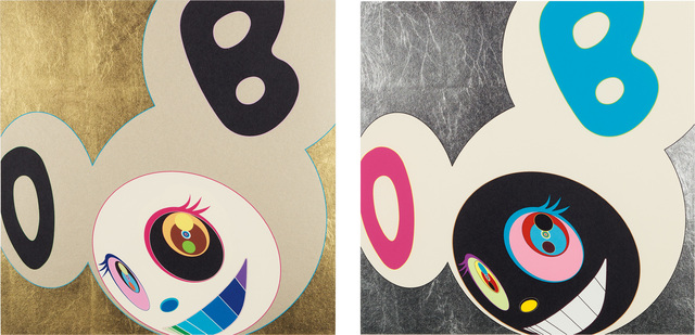Takashi Murakami, 'Two works: (i) And Then Gold; (ii) And Then White & Black', 2005, Phillips