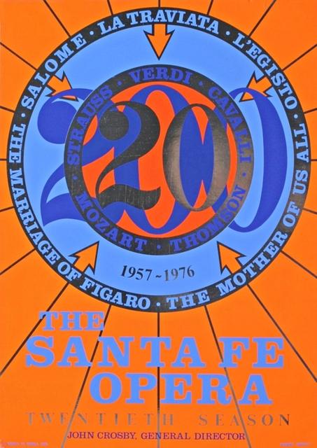 , 'SANTA FE OPERA,' 1976, Alpha 137 Gallery