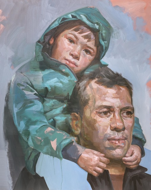 , 'Brother and Child,' 2017, Flowers