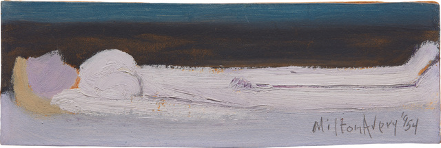 Milton Avery, 'Nude by the Sea', 1954, Phillips