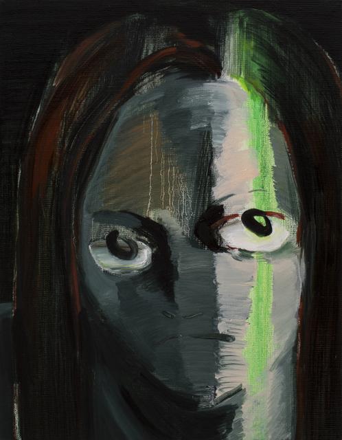 , 'Staring Woman,' 2018, Hakgojae Gallery