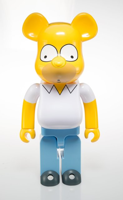 BE@RBRICK, 'Homer Simpson 1000%', 2017, Heritage Auctions