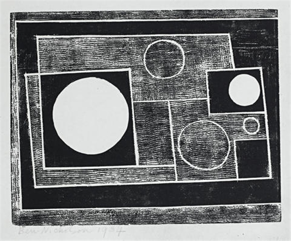 , 'Five Circles,' 1934, Osborne Samuel