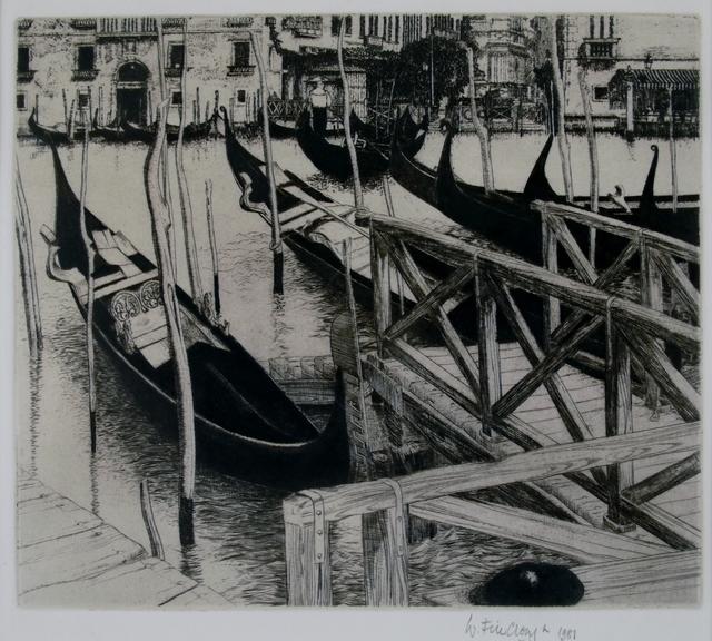 Wilfred Fairclough, 'Trahgetto, Venice', 1981, Private Collection, NY