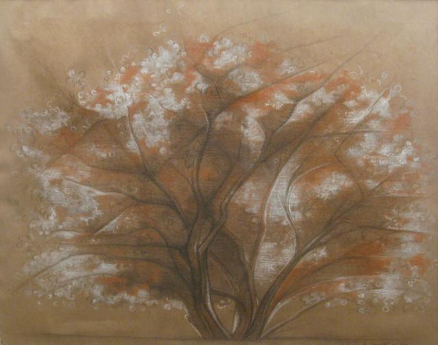 , 'Sin título (árbol),' 1930, Oscar Roman