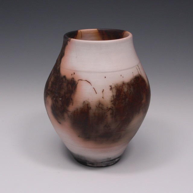 Danucha Brikshavana, 'Blush - Saggar Fired Raku Vase', 2018, Springfield Art Association