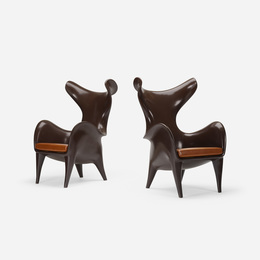 Frankie chairs, pair