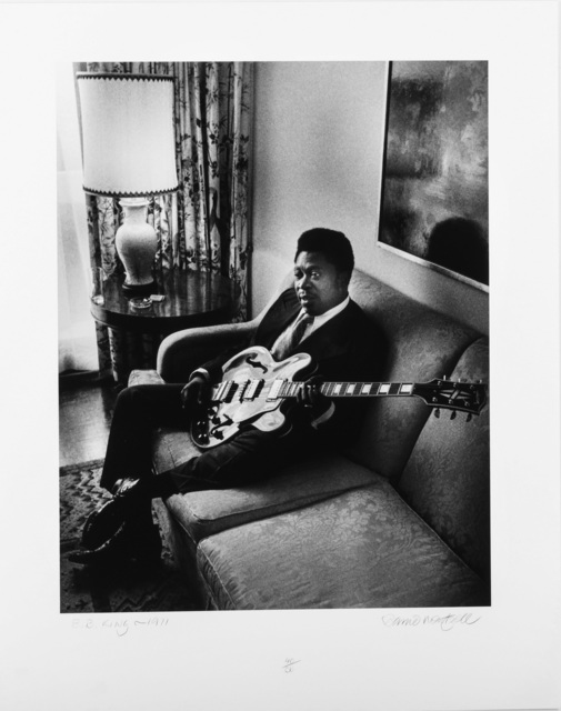 Barrie Wentzell, 'Four Works; B.B.King 1971, James Brown, 1971, Little Richard 1972,  Ray Davis, 1972', Chiswick Auctions