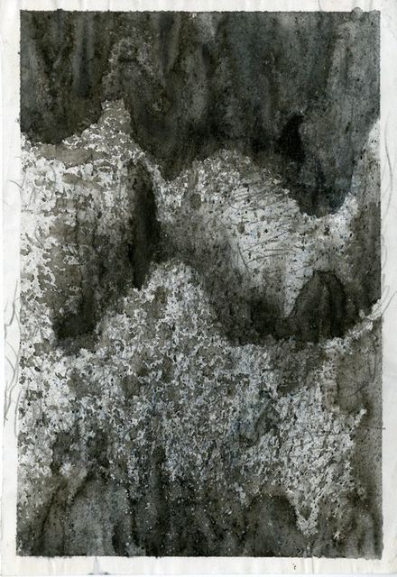 Jim Holyoak, 'Ridge', Unknown, Drawing, Collage or other Work on Paper, India Ink, bG Gallery