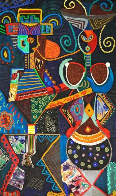 , 'On reaching 37,' 1983, Pacita Abad Art Estate