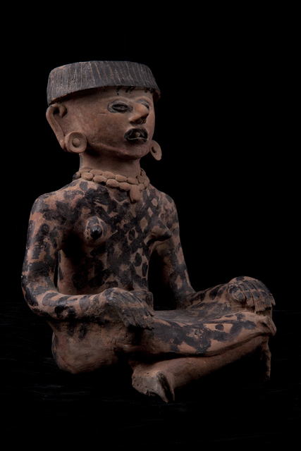 Unknown Pre-Columbian, 'Precolumbian Veracruz Seated Female', 600-900, Muzeion Gallery