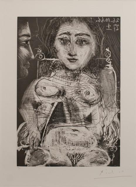, 'Femme assise dans un fauteuil [Portrait de Jacqueline au fauteuil],' 1966, Marlborough Gallery