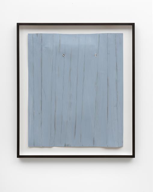 Özcan Kaplan, 'Papierarbeit (blau) #4, Januar 2018', 2018, FELD+HAUS