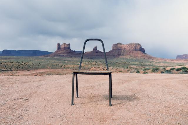 , 'Gestalt at Monument Valley,' 2017, Turner Carroll Gallery