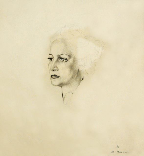 Hedda Sterne, 'Selfportrait', ca. 1938, Postmodernism Museum