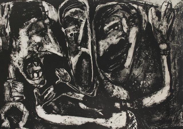 , 'Rock Trio,' 1984, Tamarind Institute