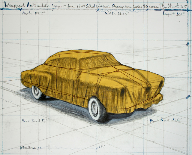 , 'Wrapped Automobile (Project for 1950 Studebaker Champion, Series 9 G Coupe) ,' 2015, Zane Bennett Contemporary Art
