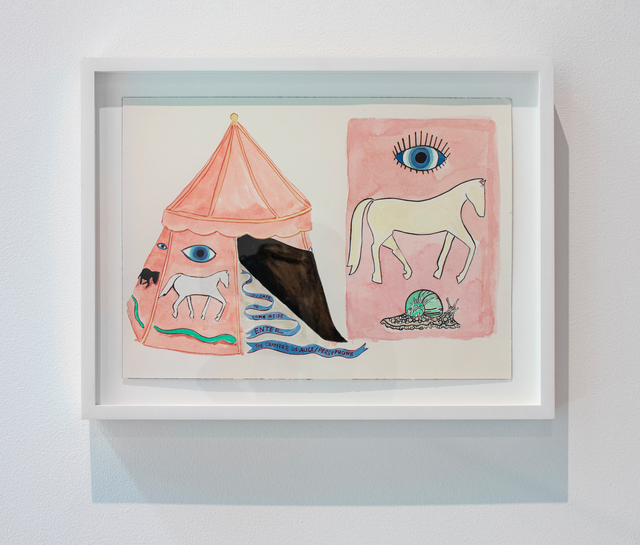 , 'Equine Visions and Shamanic Sight: The Chamber of Alice Persephone,' 2019, Denny Dimin Gallery