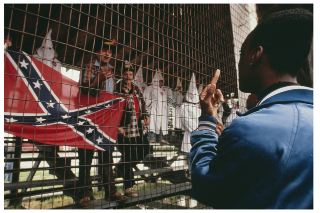 , 'F**K the KKK, New Jersey, 1990,' , Monroe Gallery of Photography