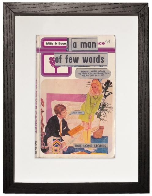 , 'A man of few words,' 2015, Nanda Hobbs Contemporary