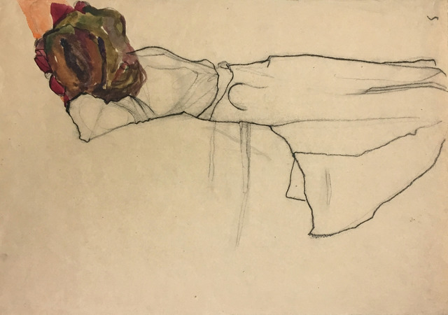 , 'Reclining Woman,' 1910, Galerie St. Etienne