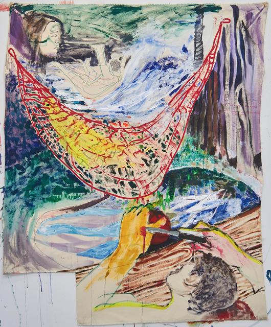 , 'Canopy Dream, Woven in Tight Stitches,' 2017, Nonfinito Gallery