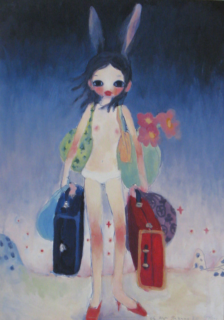 Aya Takano, 'Mail Mania Mami's summertime,move with a rabbit', 2006, Aura Gallery