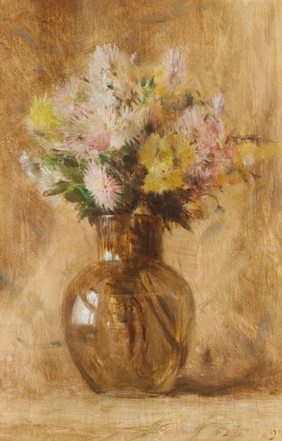 Dwight William Tryon, 'Chrysanthemums', 1890, Questroyal Fine Art