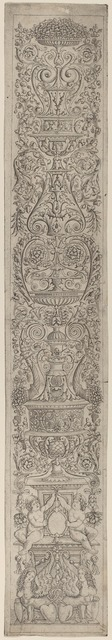 Giovanni Pietro Birago and Zoan Andrea, 'Ornament Panel: Two Sphinxes Supporting Shields', ca. 1505/1515, National Gallery of Art, Washington, D.C.