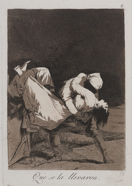 , 'They Carried Her Off! (Que se la llevaron!),' 1797-1798, Brooklyn Museum