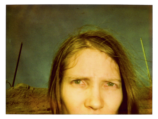Stefanie Schneider, 'California Blue Screen', 1997, Photography, Analog C-Print, hand-printed by the artist on Fuji Crystal Archive Paper, based on a Polaroid, not mounted, Instantdreams