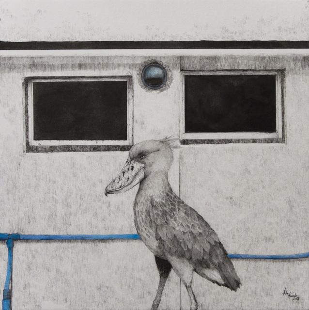, 'HAZAMA-19 Shoebill,' 2018, Mottas