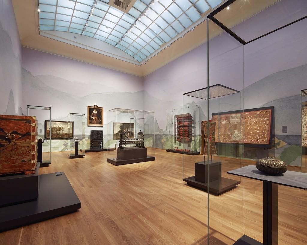 "Installation view, ""Asia > Amsterdam,"" Gallery 1. Rijksmuseum, Amsterdam (2015) Photo: Erik Smits"