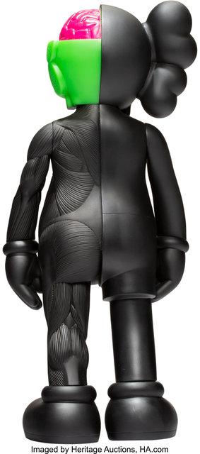 KAWS, 'Dissected Companion (Black)', 2006, Sculpture, Painted cast vinyl, Heritage Auctions