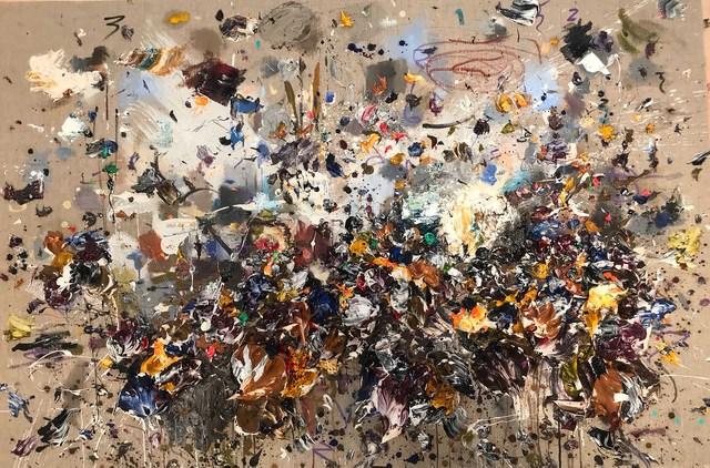 , 'Ocher Blue III,' 2018, Aurora Vigil-Escalera Art Gallery