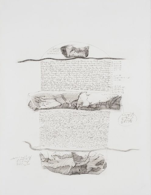 Barbara Chase-Riboud, 'Strangers', 1973, Drawing, Collage or other Work on Paper, Charcoal and graphite on paper, Michael Rosenfeld Gallery
