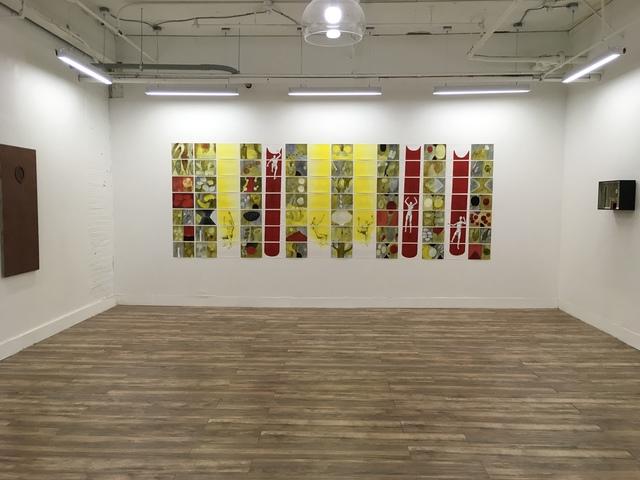 , 'Red Chutes,' 2012, Resource Art