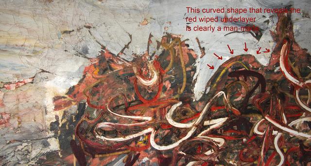 Robert Richenburg, 'The Fearful Area', 1957, Painting, Oil on canvas, Robert Funk Fine Art