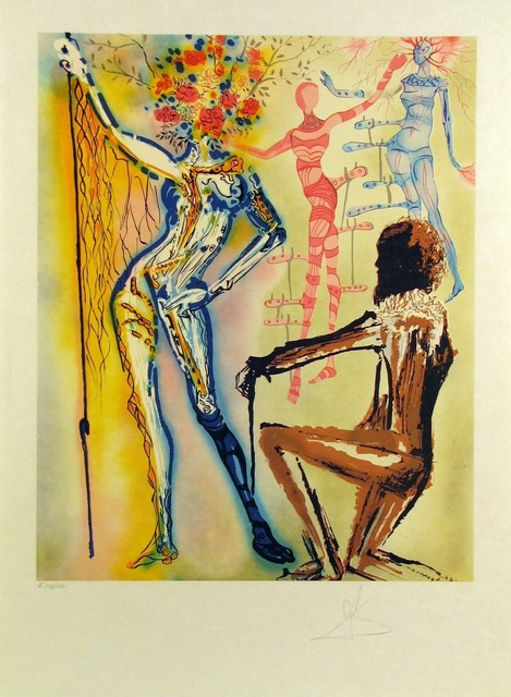 Salvador Dalí, 'The Ballet Of The Flowers (The Fashion Designer)', 1980, Gregg Shienbaum Fine Art