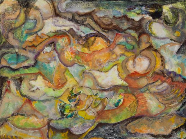 , 'Figurescape II,' 2012-2013, Walter Wickiser Gallery