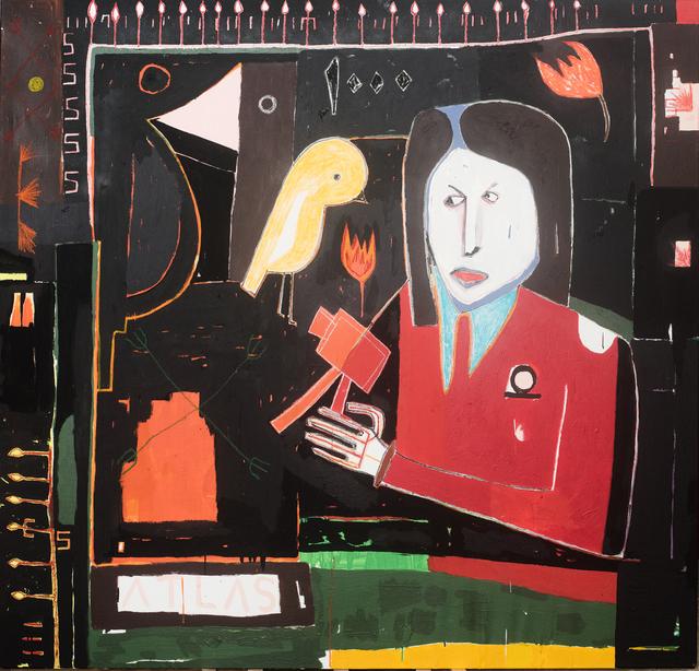 , 'Negotiation Skills - Alexanderplatz, Berlin,' 2017, Richard Heller Gallery