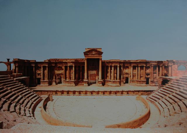 , 'Palmyra Amphitheatre,' 2017, Nanda\Hobbs