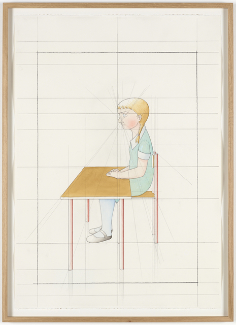 , 'An Attempt at Reconstructing my Elementary School Class, Based on my Memory (36),' 2012, Galleri Nicolai Wallner
