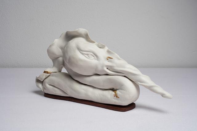 Dario Ghibaudo, 'Avis cum rostro ritortus', 2017, Galleria Pack