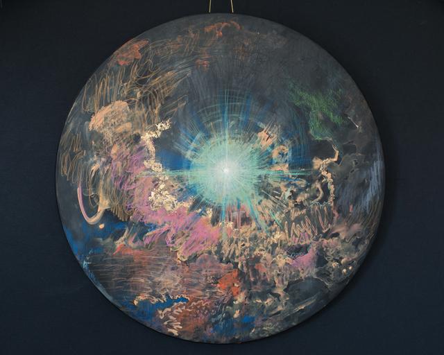 , 'Meeting Eros (a cosmic kiss),' 2018, Deep Space Gallery