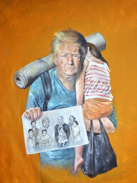 , 'Donald,' 2016, Ayyam Gallery